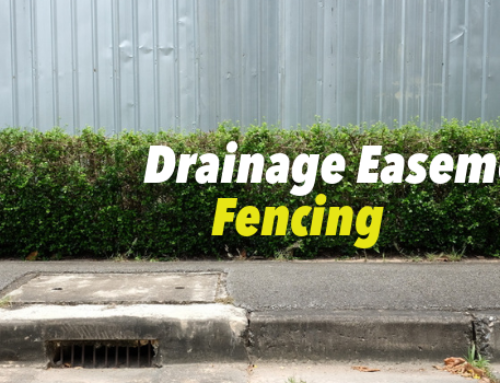 What You Need to Know About a Drainage Easement Fence