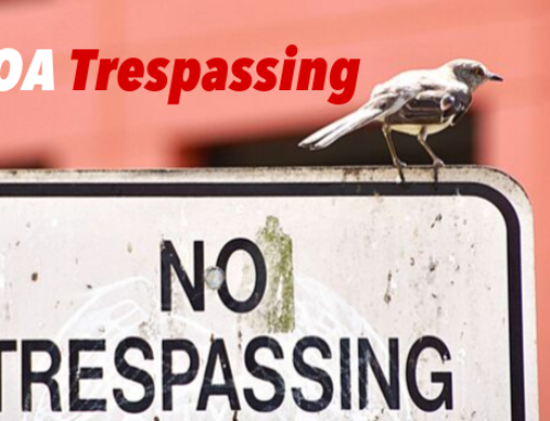 Handling HOA Trespassing