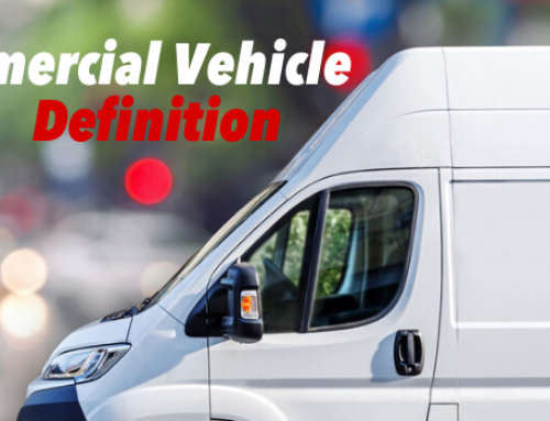 What is the HOA Definition of Commercial Vehicle?